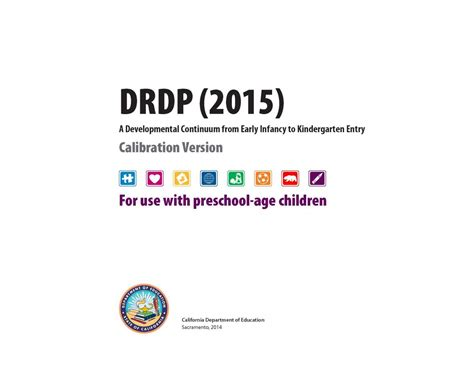 drdp forms desired results for children and families 719 | drdp2015preschool