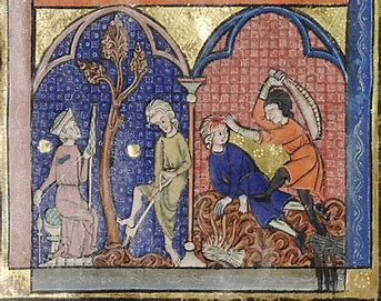 Image result for medieval images cain and abel