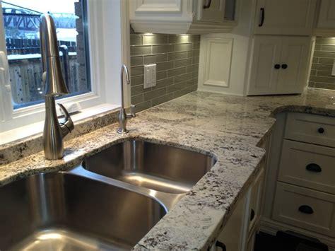arctic granite on cabinets contemporary