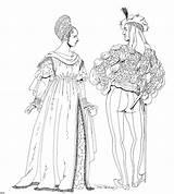Renaissance Coloring sketch template