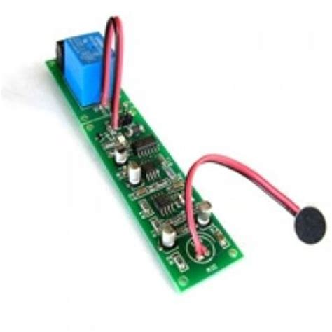 Sound Activated Switch Use Arduino For Projects