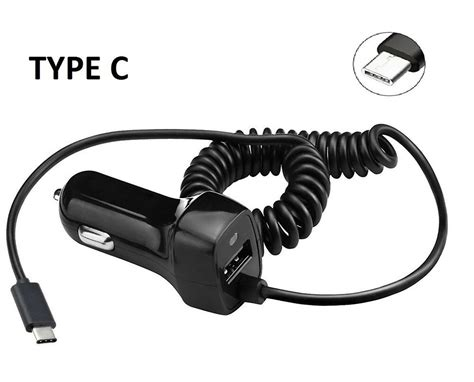 Type C Car Charger Type-c With 3.1 Usb For Samsung Galaxy