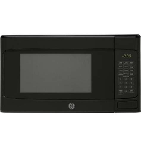 ge  cu ft capacity countertop microwave oven black jesdlbb manteo furniture appliance