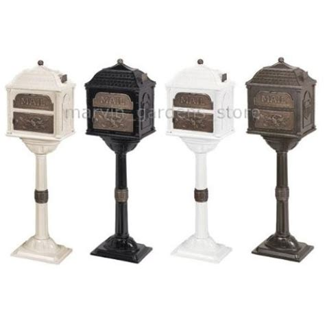 Decorated Mailboxes - gaines classic series mailbox decorative cast mail box w