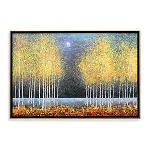 blue moon wall art bed bath beyond