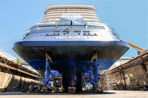 Just Deck It by Mein Schiff 3 Completes First Drydock Cruise Industry