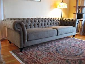 Tufted, Chesterfield, Sofa