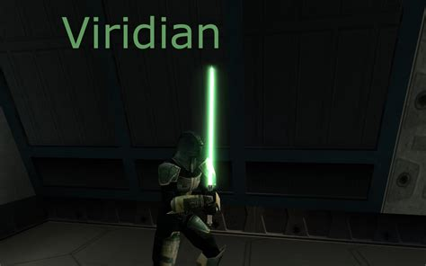 kotor 2 lightsaber colors wars the republic advanced viridian corona