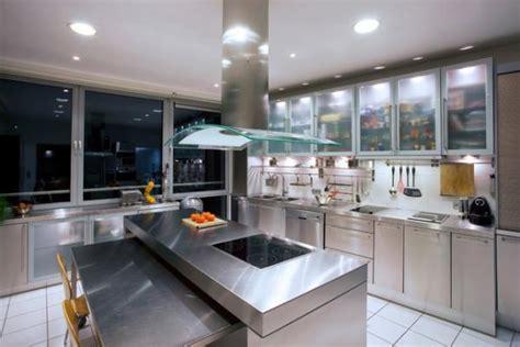 cuisine pro inox cuisine pro photo 10 20 une cuisine en inox haut de gamme