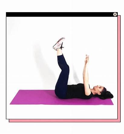 Core Workouts Equipment Toe Taps Purewow Necessary