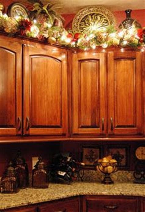 garland above kitchen cabinets 195 best images on crafts 3735