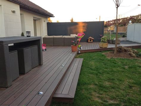 terrasse exterieure bois composite terrasse en bois composite dans l essonne loire eco bois