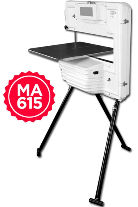 the portable band saw ma 615 specifically for raised