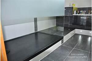 Receveur A Carreler 180x90 : receveur de douche en pierre rubix shadow 120x90 granit ~ Dailycaller-alerts.com Idées de Décoration