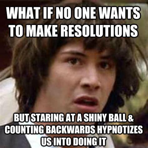 New Years Resolution Meme - via memegenerator net