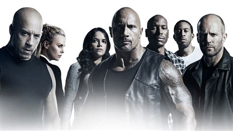 The Main Characters Of The Film Fast And Furious 8