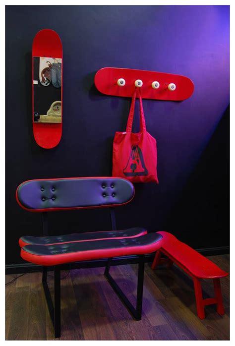 muebles  amantes del skate