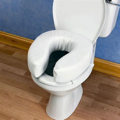 rehausseur siege wc rehausseur de toilettes rembourré
