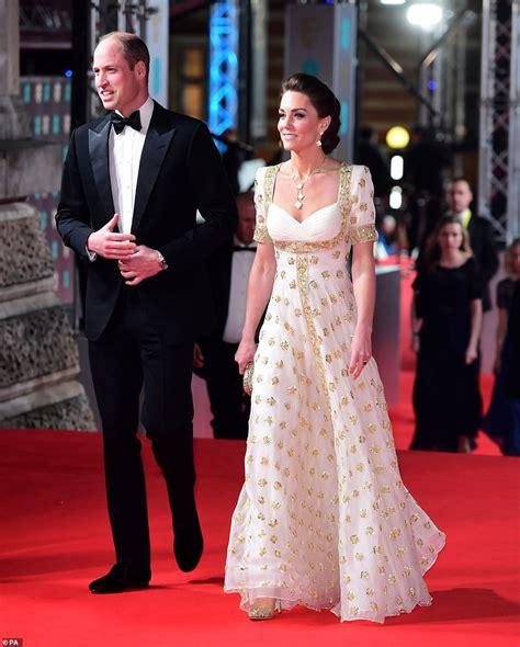 BAFTAs 2020: Kate Middleton stuns on red carpet in white ...