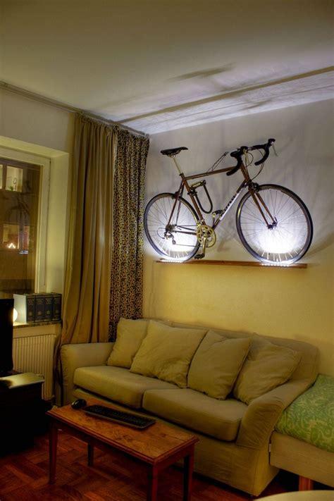 Bike Rack Ceiling Mount by 25 Best Ideas About Hanging Bike Rack On Pinterest Wall