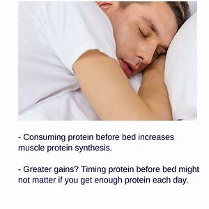 Protein Before Bed For Muscle