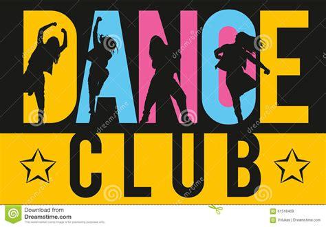 filles dansant des styles de danse moderne 224 l int 233 rieur de club de danse de lettrage photo