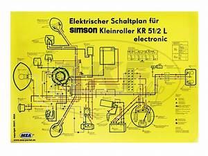 Schwalbe Elektronik Zündung : schaltplan farbposter 69x49cm schwalbe kr51 2l ~ Jslefanu.com Haus und Dekorationen
