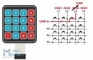 Arduino Keypad Wiring Diagram