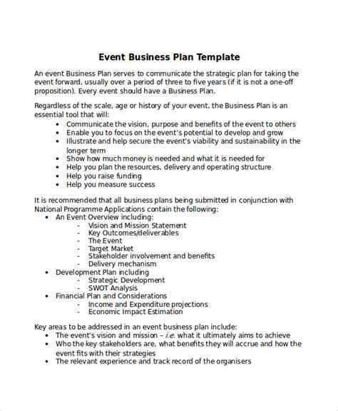 business plans  sample  format