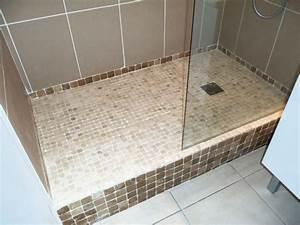 Comment Faire Une Douche Italienne : construire une douche avec receveur ~ Dailycaller-alerts.com Idées de Décoration