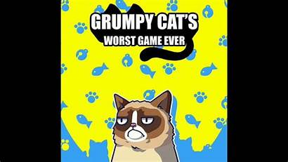 Grumpy Worst Ever Cat