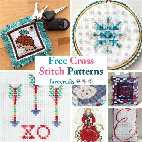 cross stitch patterns favecraftscom