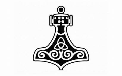 Svg Cricut Thor Hammer Viking Symbol Dxf