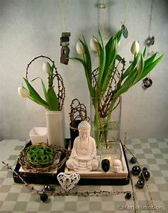 Deko In Weiß : eine tablett deko in schwarz und wei meriseimorion ~ Yasmunasinghe.com Haus und Dekorationen