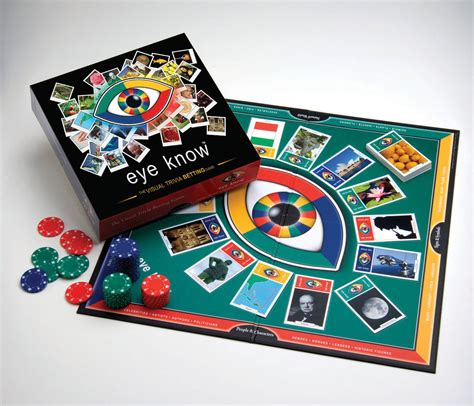 Family Board Game Wiggles Eye Know Visual Trivia Betting