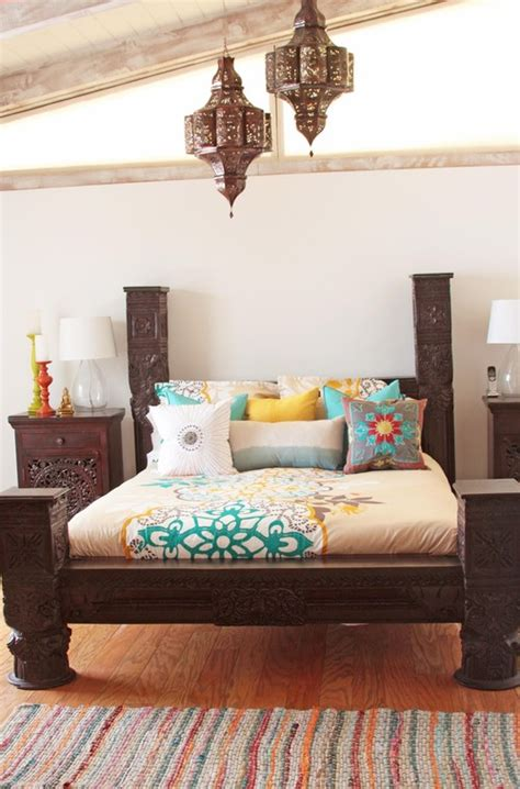 indian bedroom decor different ways to use moroccan lanterns in your home 11886   eclectic bedroom