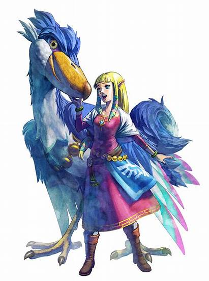 Zelda Princess Artwork Skyward Legend Sword Fanpop