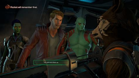 guardians of the galaxy the telltale series review ps4
