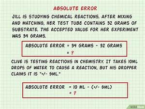 Relativen Fehler Berechnen : c mo calcular el error relativo 9 pasos con fotos ~ Themetempest.com Abrechnung
