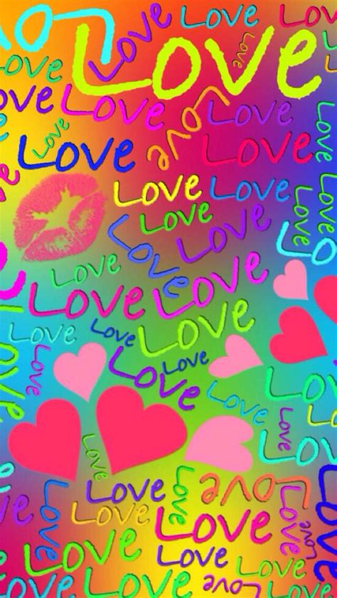 rainbow love wallpaper arco iris amor fondos