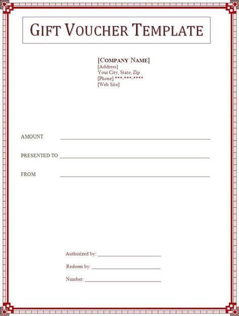 gift voucher template professional templates pinterest