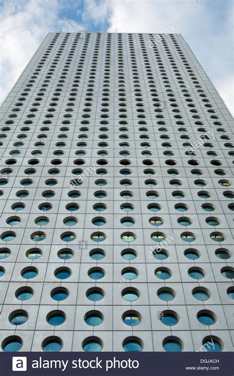 Jardine House Skyscraper With Round Windows