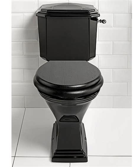 Imperial Astoria Deco Black Finish Close Coupled Toilet