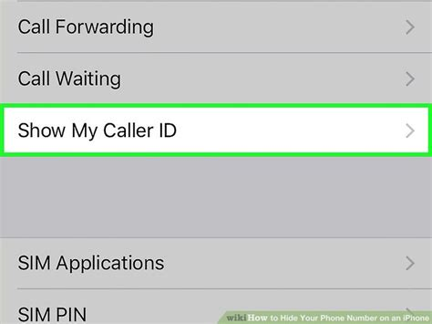 how to hide your number on iphone how to hide your phone number on an iphone