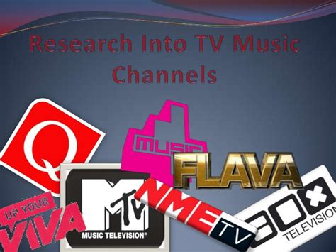 Research Into Tv Music Channels
