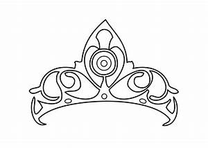 Free princess tiara coloring pages