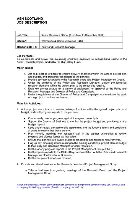 clerical duties resume sle clerical duties description resume