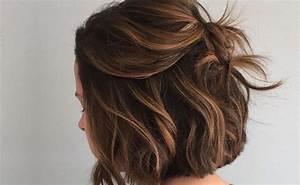 Balayage Braun Rot : die besten 25 kurze haare stylen ideen auf pinterest kurze frisuren stylen kurze haare ~ Frokenaadalensverden.com Haus und Dekorationen