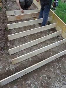 Construire Un Escalier Extérieur : ext rieurs escalier comment construire coffrage escalier ext rieur et ext rieur ~ Melissatoandfro.com Idées de Décoration