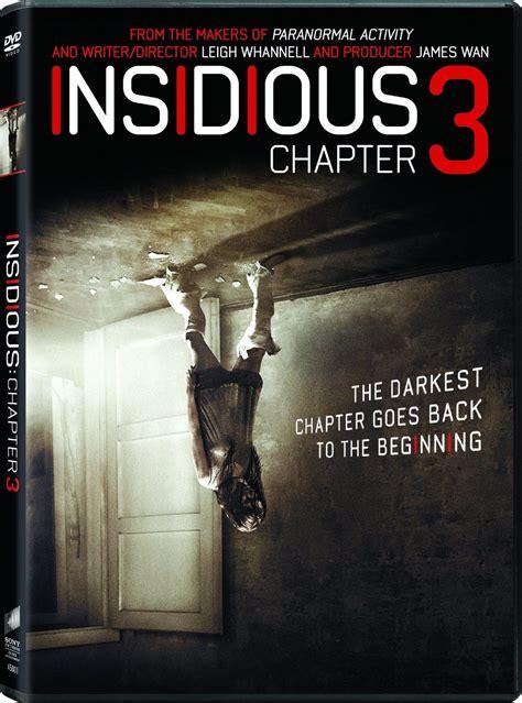DVD & Blu-Ray: INSIDIOUS - CHAPTER 3 (2015)   Insidious ...